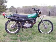 1977 KAWASAKI KE250