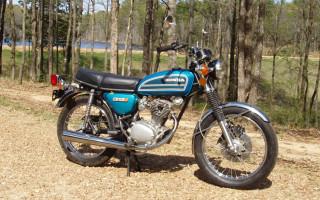 1975 HONDA CB125