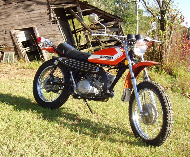 1972 SUZUKI TS250   Ms Vintage Bikes - McCarley, MS