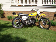 1973 SUZUKI TM400