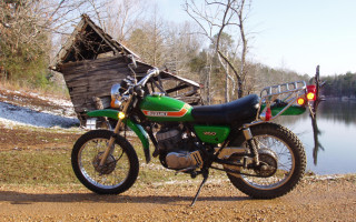 1973 SUZUKI TS250