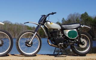 1974 HONDA CR250 ELSINORE