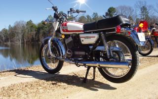 1975 YAMAHA RD250