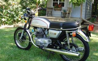 1975 HONDA CB200T