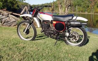 1975 HONDA CR250