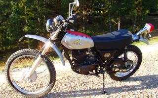 1975 HONDA MT250