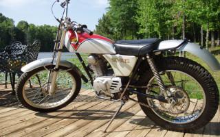 1975 HONDA TL125