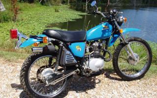 1976 HONDA XL175
