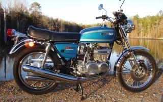 1976 SUZUKI GT380
