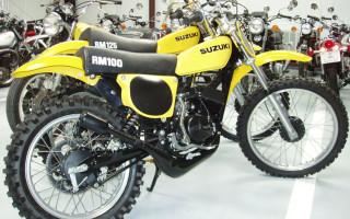 1976 SUZUKI RM100