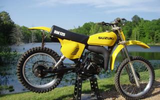 1977 SUZUKI RM125