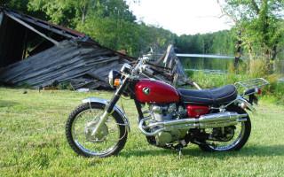 HONDA 1969 CL450