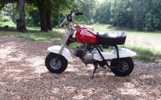 HONDA 1972 QA50