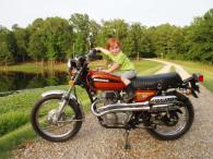 HONDA 1975 CL360