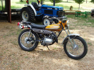 YAMAHA 1972 CT175