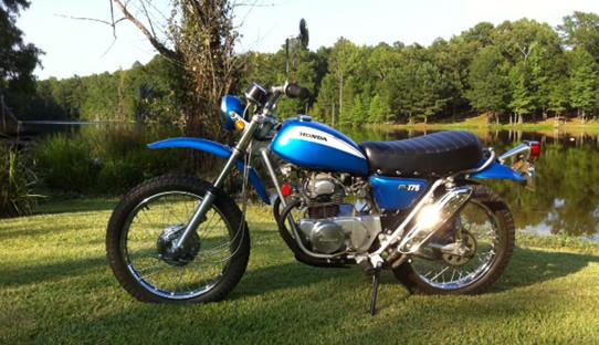 1971 HONDA SL 175